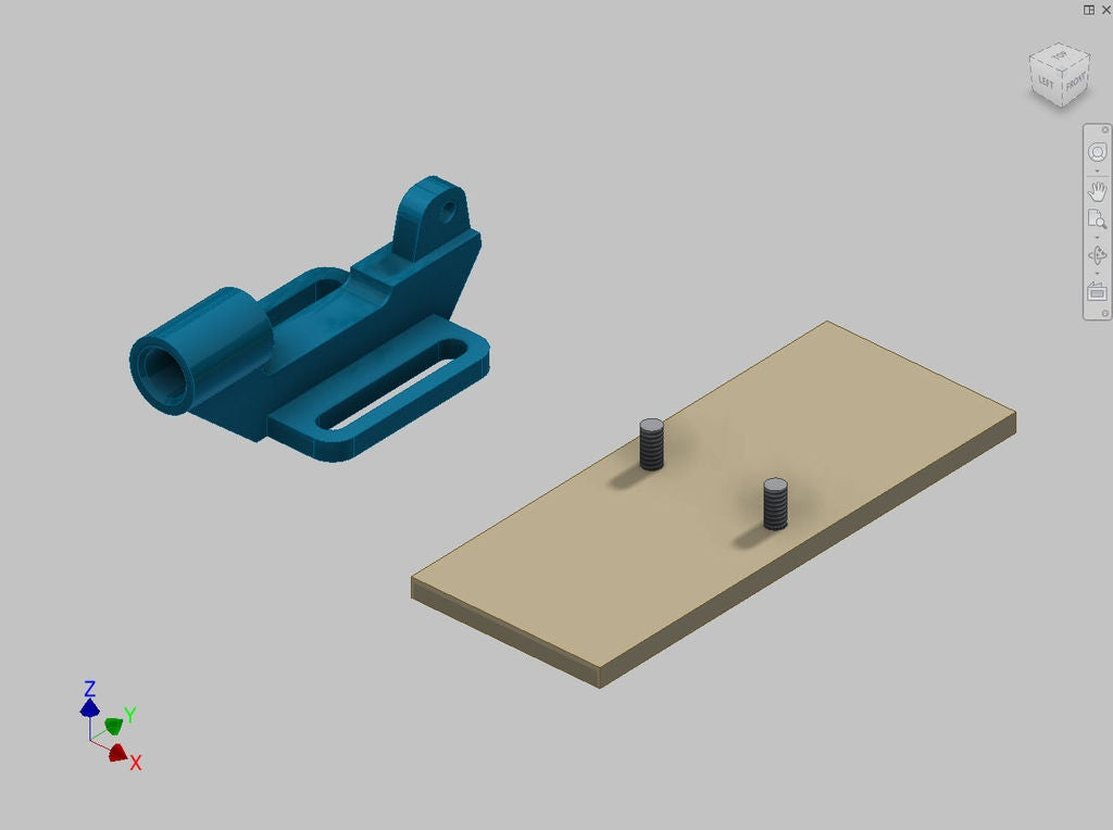 Picture of Rotate a Part Before Placing