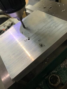 Drill and Tap the Heat Sink