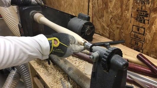 Finish Shaping Your Handle