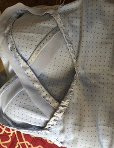 Step 6: Sewing the Straps On