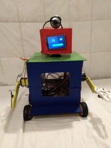 Cypherbot (an Assistant Robot)