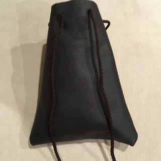 Simple Leather Project From Scraps