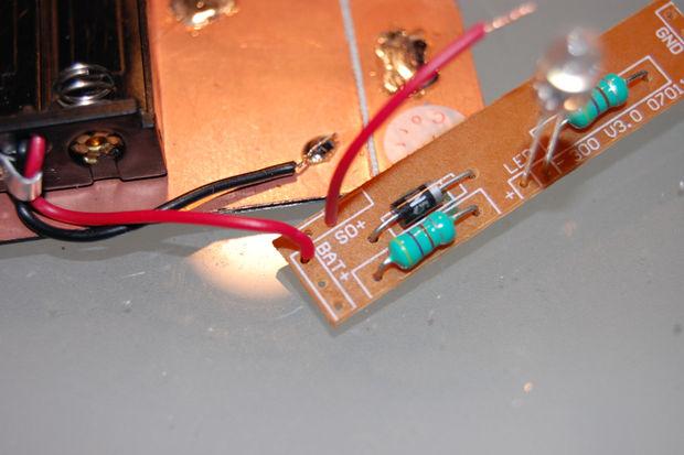 Solder the Garden Light PCB