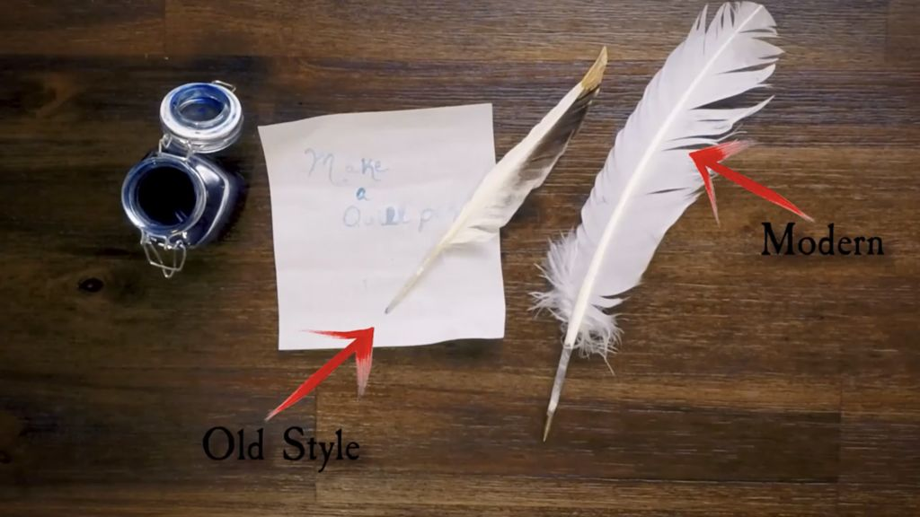 Picture of How to Make a Quill Pen