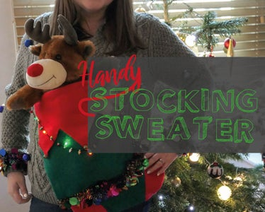 Handy Stocking Sweater