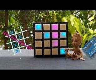 DIY Arduino的抽动的Toc toe游戏