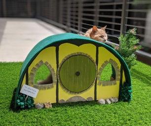 Hobbit Hole Cat House