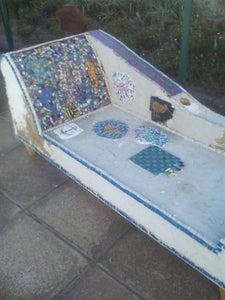 Mosaic Chaise Longue (A Work in Progress!)
