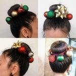 Pin Hair Ornaments Into Hair