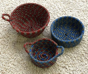 Transform Retired Climbing Rope Into Bowls and Other Useful Things