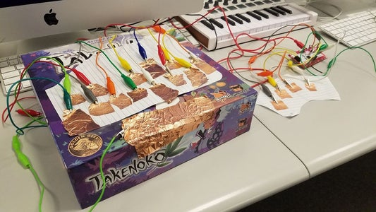 """Makey Makey """"Not Quite a Keyboard™"""""""