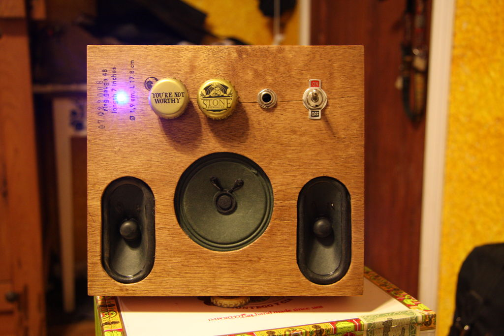 Picture of My Cigar Box Guitar (with Cigar Box Amp)