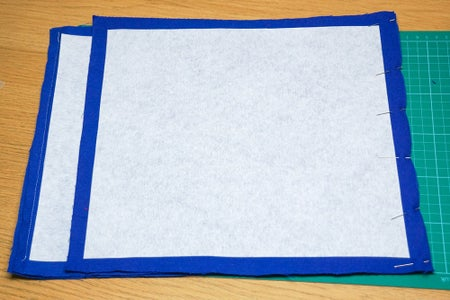 Sew the Top & 2 Side Panels Together