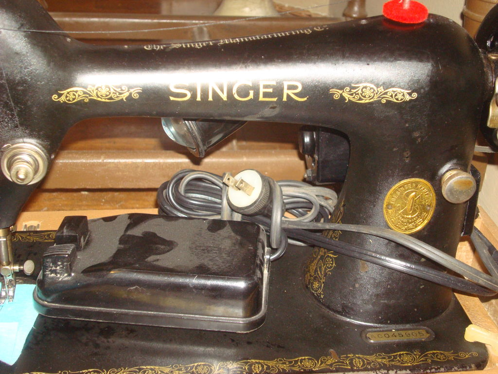 Picture of Bought Sewing Machines