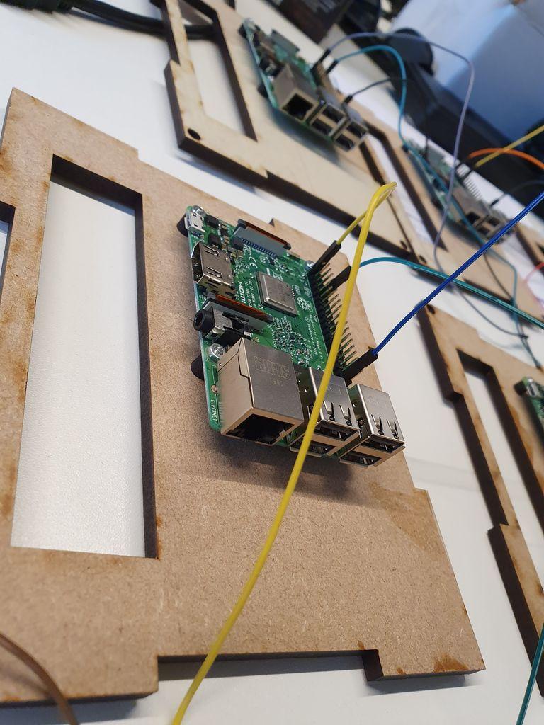 Picture of  Attach the Raspberry Pi