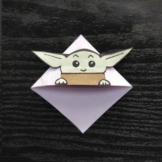 Origami Yoda Bookmark   ALA Store   320x320