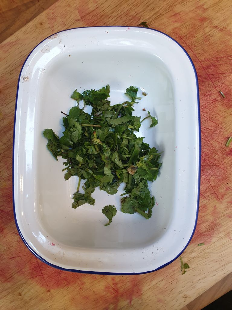 Picture of Add the Chopped Coriander and Serve