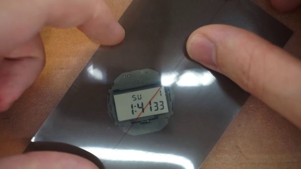 Picture of Inverting the LCD Screen