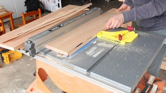 Making the Bent Lamination Strips