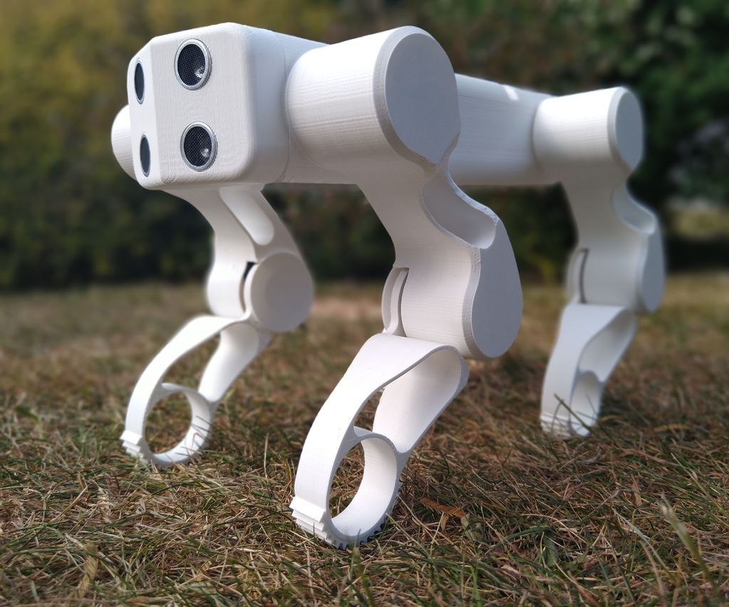 GoodBoy - 3D Printed Arduino Robot Dog
