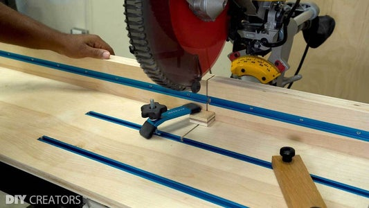Add All Accessories to the Miter Saw Station