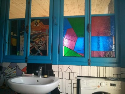 Adding Mirrors and Adding the Stained Glass
