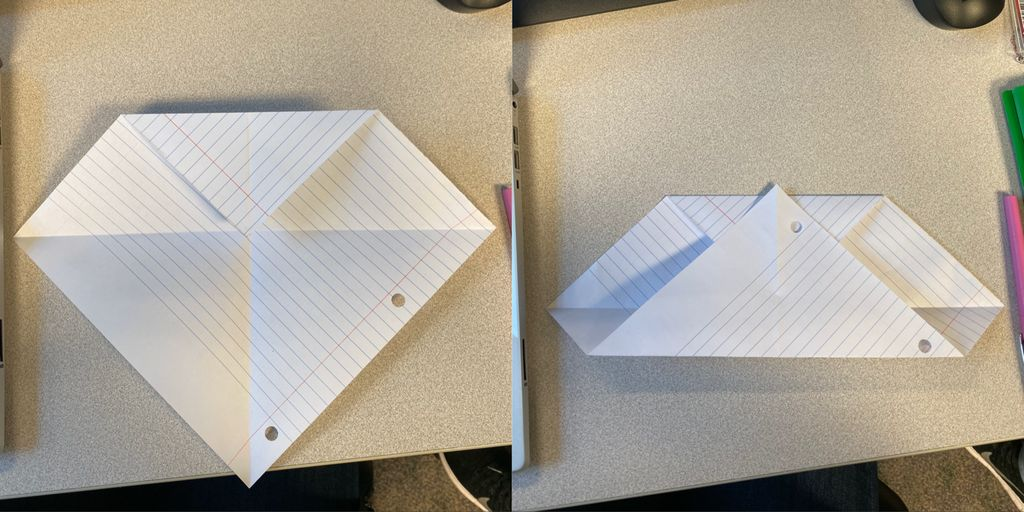 Picture of Fold Top and Bottom