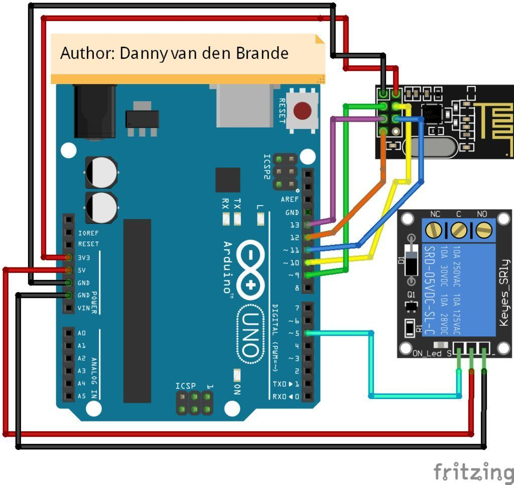 Picture of Arduino Code for the Transmitter Relay
