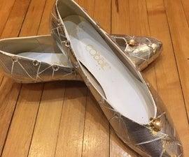 DIY Cinderella Slippers