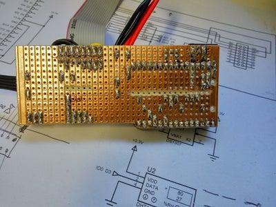 Making the Veroboard PCB