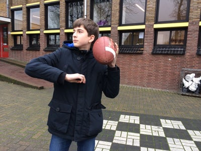 How to Throw an American Football