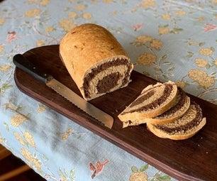 螺旋黑麦面包