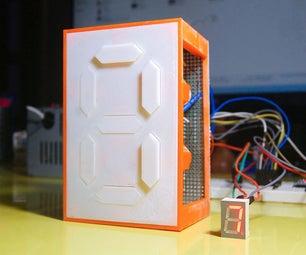 Mechanical 7 Segment Display