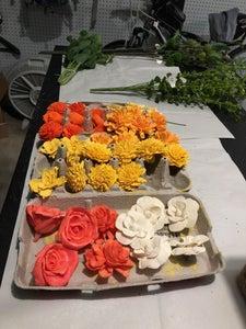 Dye the Sola Wood Flowers