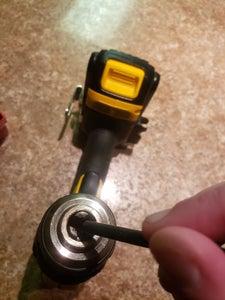 Attaching Drill Bit-Tightening