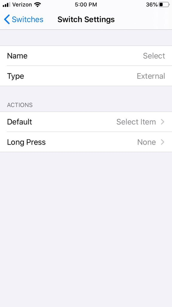 Picture of Set Up Switch Control on IOS Accessibility Options