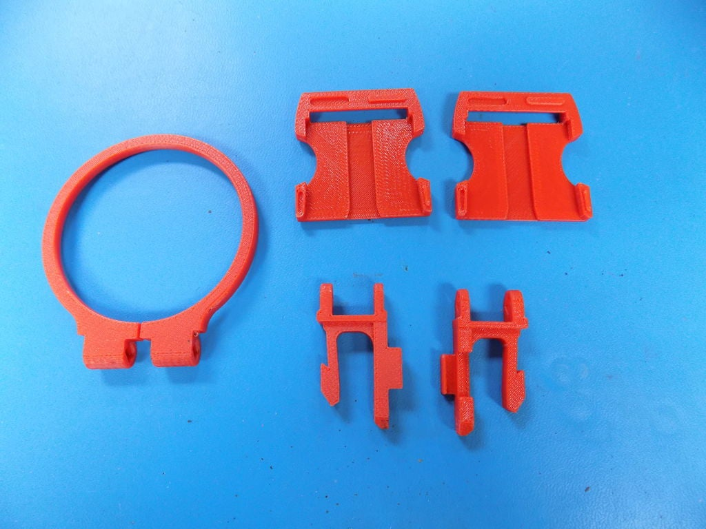Picture of Printed Holder Parts