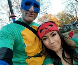 Last Minute Ninja Turtle Costume