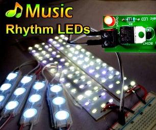 Music Rhythm LED Flash Light