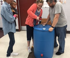 How to Build a Rain Barrel - Workshop Style!