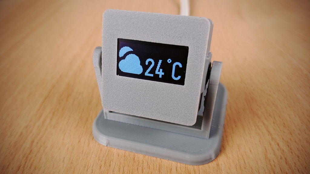 Picture of DIY Room Thermometer Using an OLED Module