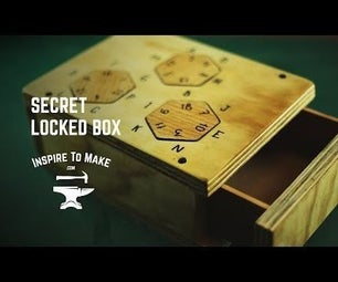 Secret Combination LockBox
