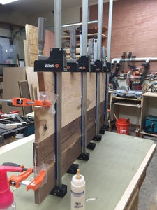 Prepare the Shelves for Thickness (no Joinery Yet)