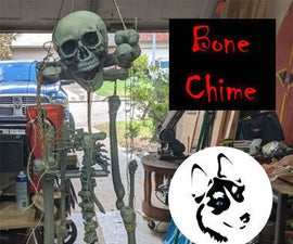 Halloween Skeleton Wind Chime!!