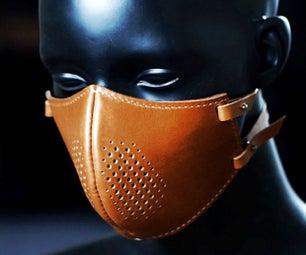 制作皮革蒸汽朋克面膜