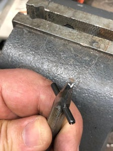 Cut Groove in Tip