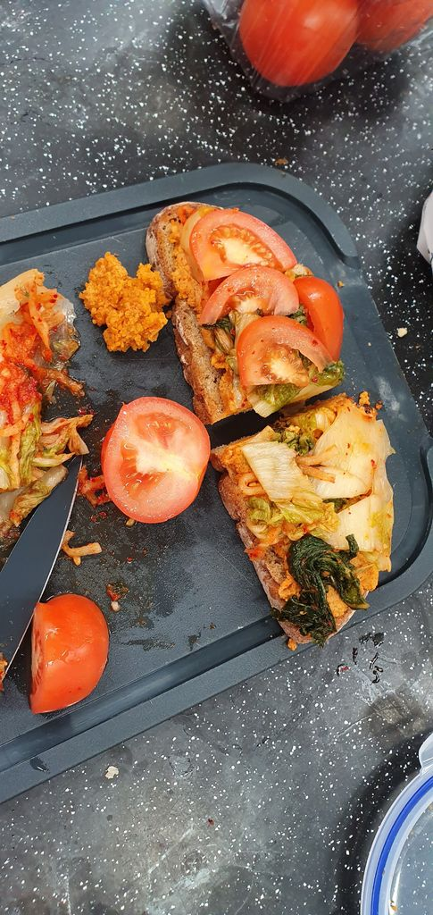 Picture of Kimchi Hummus Sandwich