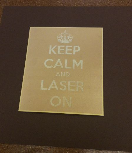 Picture of KEEP CALM AND LASER ON