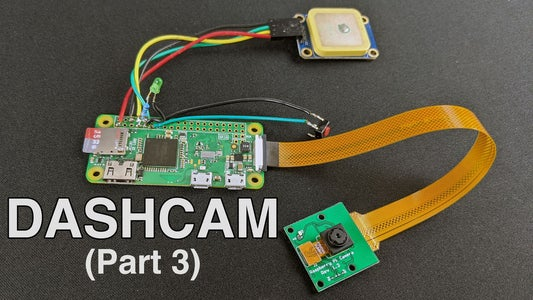 Making a Pi Zero Dashcam (pt. 3) : File Management & Enhancements
