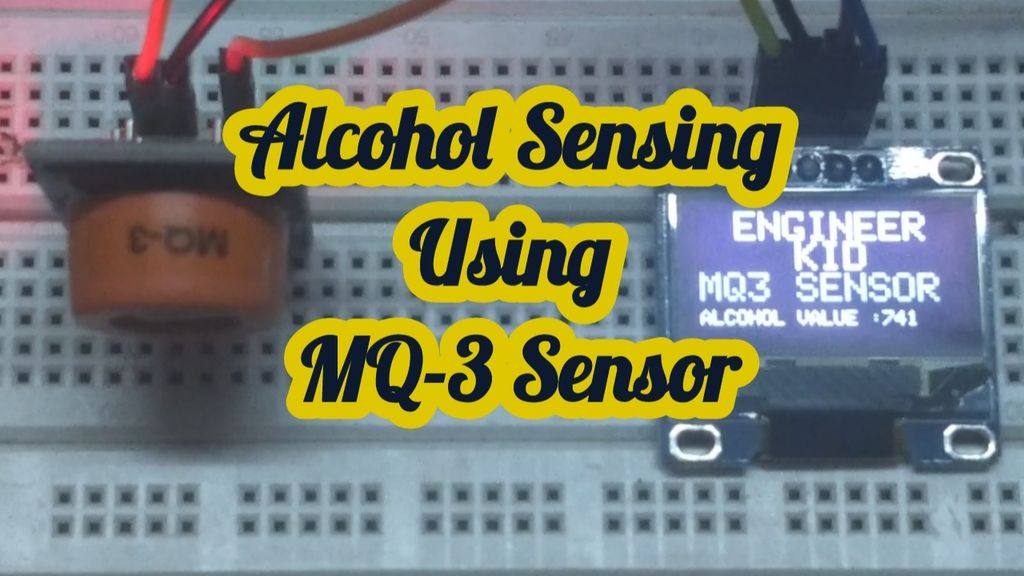 Picture of Alcohol Sensing Using MQ-3